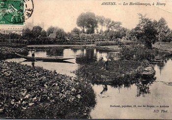 Printemps des Poètes aux Hortillonnages d'Amiens